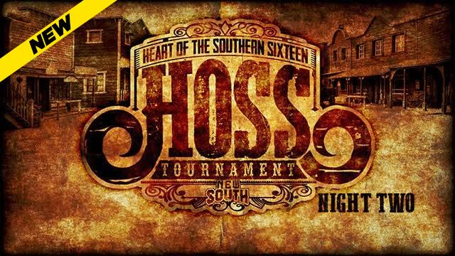 New South HOSS Tournament Night Two