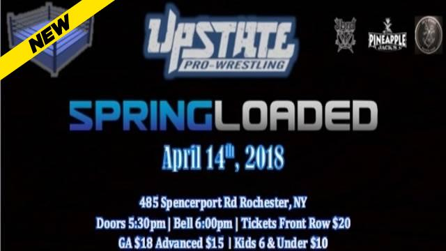 Upstate - Spring Loaded