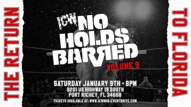 ICW No Holds Barred Volume 9