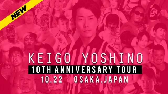 Keigo Yoshino 10th Anniversary Tour, October 22, 2017 (Osaka)