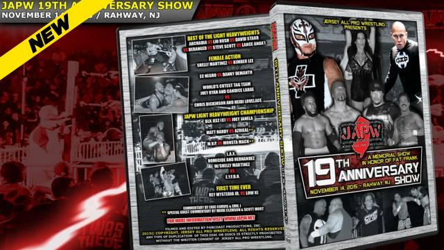 JAPW - 19th Anniversary Show: The Fat Frank Memorial