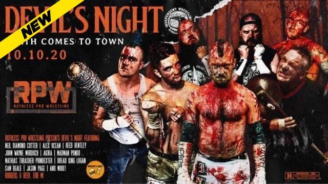 Ruthless Pro Wrestling - Devil's Night